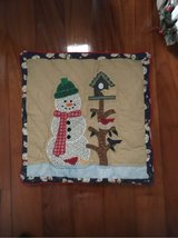 Quilted pillow cover in Okinawa, Japan