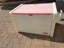 Rare Little Tikes Pink & white toy storage chest in Chicago, Illinois