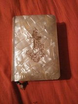 1957 MOTHER OF PEARL BRIDAL BOOK in Cleveland, Texas