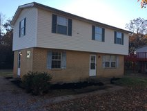 3 bedroom, 1 1/2 bath, fenced yard, shed, central heat & air, Pets Ok, in Clarksville, Tennessee