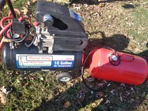 10 gal. Rural king Air compressor and Air tank in Clarksville, Tennessee