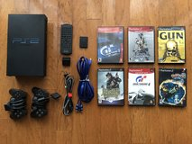 TWO PlayStation 2 original consoles with 2 controllers, wireless remote, 8GB memory card, MONSTE... in Kingwood, Texas