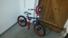 captain America bike in Grafenwoehr, GE