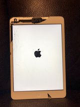 Cracked iPad mini 2 16GB silver in Tampa, Florida