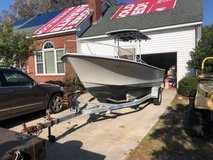 Motorboat 1980 20' sea Ox boat and trailer in Cherry Point, North Carolina