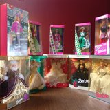 barbie dolls 10 antique never opened in Tinley Park, Illinois