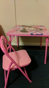 minnie table and chair in The Woodlands, Texas
