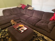 large sectional and ottoman in Warner Robins, Georgia