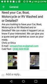 Need your Car, RV, Motorcycle or Boat detailed? in Warner Robins, Georgia