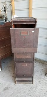 ANTIQUE file cabinet!!!! in Houston, Texas
