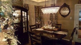 Dining Table, Four Chairs and China Cabinet in Kingwood, Texas