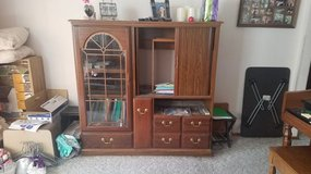 Entertainment center + cabinet with drawers in Tacoma, Washington