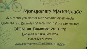 Vendors/Foodtrucks for Montgomery Marketplace in The Woodlands, Texas