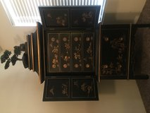 Chinese hand painted Armoire and 2 Night stands. The set Originally cost me $4,700. Please read ... in Las Vegas, Nevada
