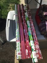 Rolls of wrapping paper in Joliet, Illinois