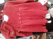 Red Heirloom by Polly 3 piece set 6-9 mos in Dothan, Alabama
