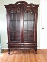 Antique china cabinet in Tinley Park, Illinois
