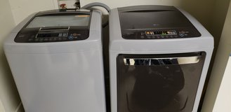 Washer and dryer lg brand new with all papers and warranty in Fort Benning, Georgia