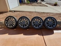 Mustang wheels and tires in Fort Bliss, Texas