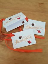 6 Thanksgiving Gift Tags Handmade in Ramstein, Germany