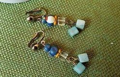 $3.00 Blue Penguins Earrings - Clip On - So Cute  PreWorn, LOOKS NEW - EXcellent Condition  Smok... in Leesville, Louisiana