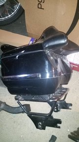 OEM Harley quick release luggage rack & tour pack in Travis AFB, California