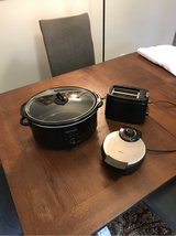 Crockpot, Waffle Maker, and Toaster in The Woodlands, Texas