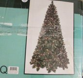 220V Pre-Lit 7.5 Ft Cashmere Pine Christmas Tree Clear Lights in Ramstein, Germany