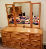 HEADBOARD (KING-SIZE), DRESSER AND CHEST OF DRAWERS in Warner Robins, Georgia