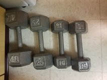 Weights in Fort Drum, New York