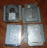 4 compter hard drives and cases as shown in Livingston, Texas