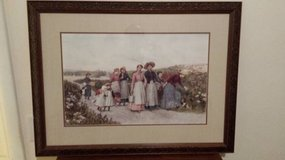"""""""Berry Pickers"""" by Jennie Brownscombe in Fort Rucker, Alabama"""