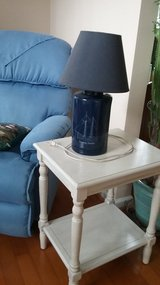 NAUTICAL LAMP AND SIDE TABLE in Beaufort, South Carolina