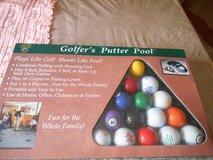 New GOLFER'S PUTTER POOL Set by Dennco, Inc in Kingwood, Texas