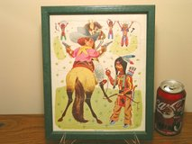 Vintage Playskool Tray Puzzle - Cowboys & Indians in Bartlett, Illinois