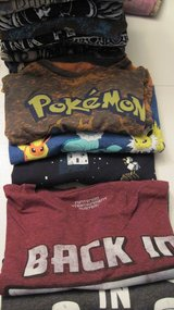 29 Graphic T-Shirts, 6 Solid Shirts, and 2 Dress Shirts  Most Size Large in Hopkinsville, Kentucky