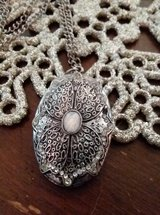 silver and opal pendant in Fort Irwin, California