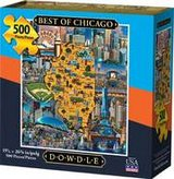 Puzzle - Best of Chicago (500 pieces) (NEW) in Bolingbrook, Illinois