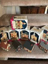 Village pieces for Christmas in Camp Pendleton, California