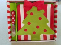 NEW Christmas tree cheese set by Mud Pie in Naperville, Illinois