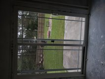 White sliding patio door in Camp Lejeune, North Carolina