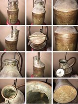 Standard Oil Co 5 Gallon Can Jug Gasoline Sign Vintage handle clean Original in Glendale Heights, Illinois