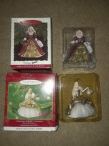 1996, 2000 Hallmark Barbie Ornaments in Glendale Heights, Illinois