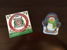 Holiday Toys! NEW / UNUSED Holiday Word-a-Round + Playing Cards in Bolingbrook, Illinois