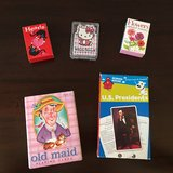 Set of 5 - Playing Card Games + President Flash Cards in Bolingbrook, Illinois