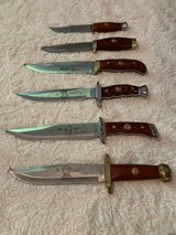 Bowie Knives Wild West Collection in Kingwood, Texas