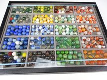 Vintage Marbles and Display Case in Pearland, Texas