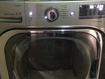 LG 5.2 cu. ft. High-Efficiency Front Load Washer with Steam and TurboWash in Graphite Steel in Lawton, Oklahoma