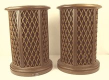 Pair of Rare Vintage Pioneer CS-05 Omnidirectional round end table speakers in Westmont, Illinois