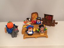 Little People Thanksgiving set in St. Charles, Illinois